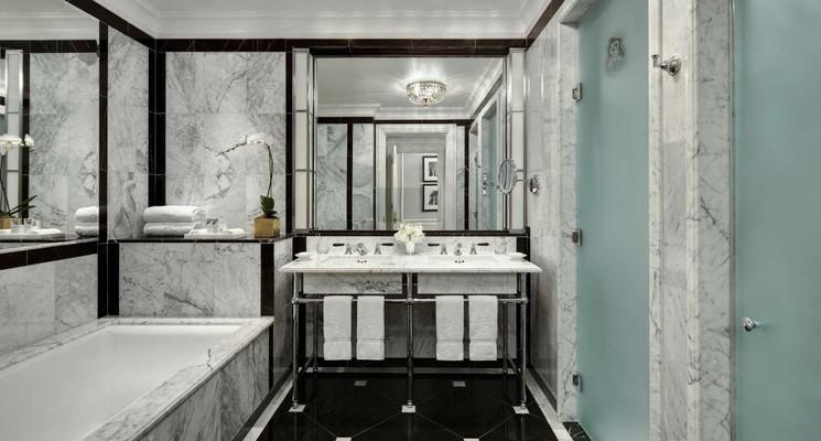 The St  Regis New York  Bathroom. American Excursionist
