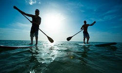 Stand Up Paddle Boarding in Tahoe