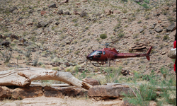 Helicopter Ride and Picnic in the Grand Canyon