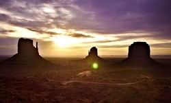 Monument Valley with a Spiritual Healer